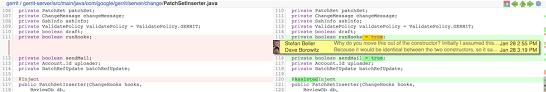 gerrit developers