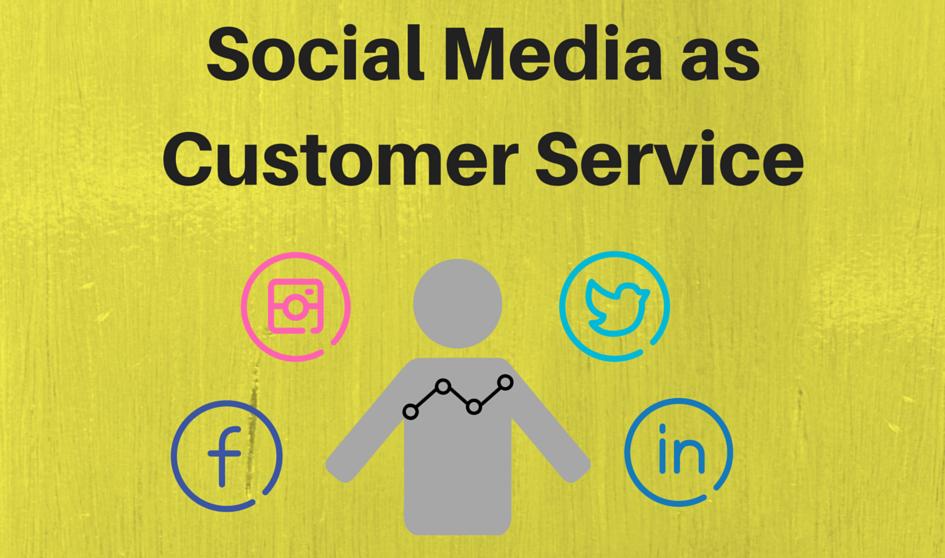 Social media as customer service